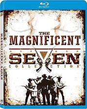 The Magnificent Seven 1 2 3 4 Collection . Die Glorreichen Sieben . 4 Blu-ray