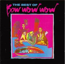 BOW WOW WOW-The Best Of-CD-1989–Receiver Records-RRCD 116-Annabella Lwin