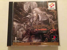 Castlevania Symphony Of The Night 2CD Sony Playstation PS1 Jap