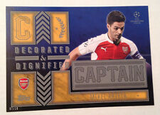 2016 Topps UEFA Captain 5x7 MIKEL ARTETA Gold #/10 Made Decorated & Dignified