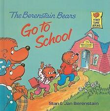 The Berenstain Bears Go to School (Berenstain Bears First Time Books)-ExLibrary