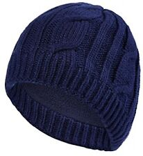 Sealskinz Waterproof Cable Knit Beanie Hat Blue