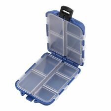 10 Compartments Storage Case Box Fly Fishing Lure Spoon Hook Bait Tackle XP