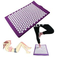 Massager Cushion Yoga Bed Pilates Nail Mat Acupressure Massage Relax Health Care