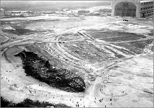 Photo: Aerial View Of Hindenburg Wreckage The Day After Tragedy - May 7, 1937