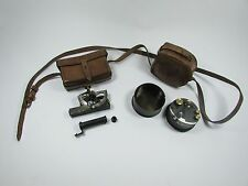 A Cased Abney Level by Thomas Armstrong & Box Sextant by Stanley London c.1915