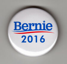 "BERNIE SANDERS For President 2016 button campaign logo 1-1/2"" pin pinback"