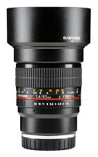 Samyang 85mm F/1.4 MF IF MC ASP Lens For Sony-E (New Product)