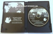 2005 to 2010 Corvette~ Cadillac STS STS-V~ Navigation DVD Disc WEST Map