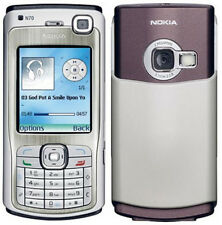 Nokia n70 SILVER (Senza SIM-lock) Smartphone 3g video chiamata 2,0mp FM MADE GERMANY