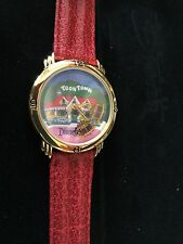 "RARE DISNEY NEWS ""ALL ABOARD FOR MICKEY'S TOONTOWN"" LTD EDT NUMBERED WATCH - NEW"