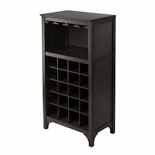 Wine Cabinet Bottle Holder Glass Rack Storage Wood Kitchen Home Decor Liquor Bar