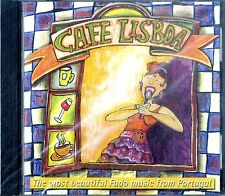 AA.VV. CAFE LISBOA Most Beautiful Fado music from Portugal CD NEW Sealed