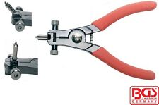 BGS Tools Professional Circlip Pliers 165mm Long For External Circlips 445