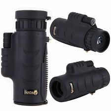 PANDA 8x42 Zoom Lens DA VIAGGIO MINI HD Telescopio Monoculare Tascabile Outdoor Gear