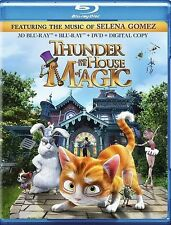 THUNDER AND THE HOUSE OF MAGIC New Blu-ray 3D + Blu-ray + DVD Selena Gomez