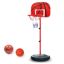 Mini Adjustable Toy Basketball Back Board Stand & Hoop Set For Children Kids