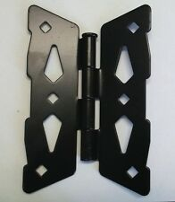 """8"""" Contemporary Butterfly Hinge for Wood Fence (Set of 2)"""