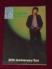 CLIFF RICHARD 20th ANNIVERSARY TOUR UK TOUR 1978 PROGRAMME & TICKET! SOUTHAMPTON