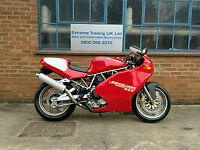 Ducati 900SL Super Light IV 1995 Low mileage with great extras