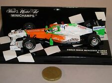Minichamps 410 110014 Force India Mercedes VJM04 F1 voiture de formule 2011A Sutil 1:43
