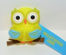 BATH & BODY WORKS GREEN OWL SHOWER SPONGE RAZOR MULTI PURPOSE HOOK LOOFAH HOLDER