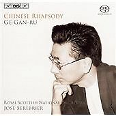 Chinese Rhapsody, Wu for Piano and Orch [sacd/cd Hybrid] CD NEW