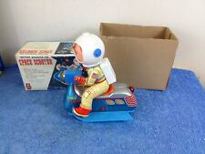 Masudaya Space Scooter 3845 Japan Vintage Tin Toy ( FOR RESTORE REPAIRS )