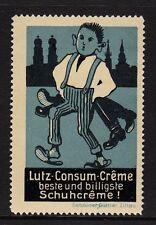 40909/ Reklamemarke - Lutz-Consum-Creme - beste und billigste Schuhcreme !