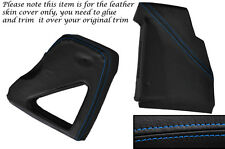 BLUE STITCH DASHBOARD SIDE TRIM COVERS FITS LAND ROVER DEFENDER 90 110 83-06