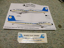 Hawkeye  decals CDS-205 East West C-47 1968 Livery Special  D17