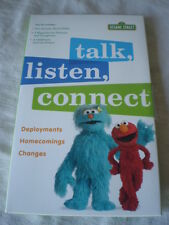 Sesame Street Talk Listen Connect Military Deployments Homecoming Bilingual 2008