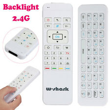 Mini 2.4G Backlit Wireless Keyboard Air Mouse Remote For PC Pad Android TV Box