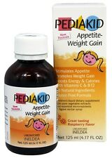 Pediakid - Appetite-Weight Gain Raspberry Flavor - 125 ml.