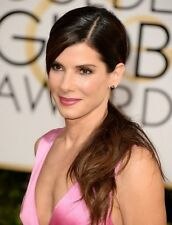 "Sandra Bullock in a 8"" x 10"" Glossy Photo 2014 Golden Globes"