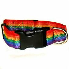 Gay Pride Dog Collar Size Small