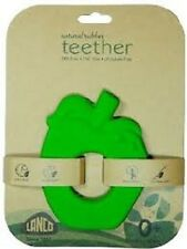 Natural Rubber Green Apple Pomme Teether Ages 0+ Lanco Spain Safe Non-toxic