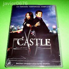 CASTLE TERCERA TEMPORADA EN DVD NUEVO Y PRECINTADO 6 DISCOS