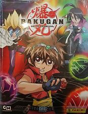 BAKUGAN BATTLE BRAWLERS STICKER ALBUM & ALL STICKERS TO COMPLETE THE ALBUM NEW