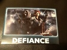 DEFIANCE . VIDEO GAME . T.V. SERIES . JOIN THE FIGHT . POST CARD . MINT