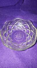 Vintage Alco Cut Glass Candy Dish
