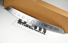 2003-2006 Chevrolet SSR Hood Emblem Nameplate Badge Satin Chrome new OE 15167721