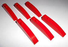 Lego (42022) 6 Bogensteine 1x6x1, in rot aus 4403, 4895, 7938, 7944