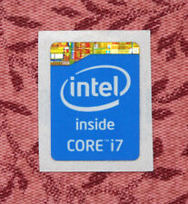 Intel Core i7 Inside Sticker 15.5 x 21mm 2013 Version Haswell Case Badge