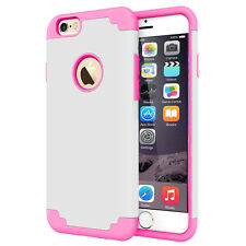 """Heavy Duty Hybrid Rugged Rubber Hard Case Cover For Apple iPhone 6S / 6 4.7"""""""