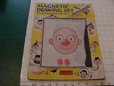 vintage MAGNETIC Drawing Set --DAPPER DAN from Smethport, you know the toy