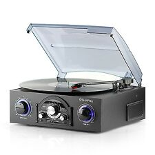 Record Player With IPod Dock For Vinyl Turntable Speakers USB/MP3/MD Cheap Best