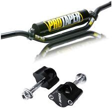 Pro Taper SE Handlebars Motocross Bars 22mm 7/8 BLACK CR HIGH Bend & Clamps CRF