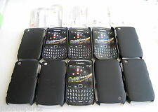 10 x Cygnett Black Shell Case & Screen Guard for BlackBerry Curve 8520 & 9300 3G