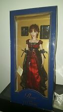 Franklin Mint Titanic Portrait Vinyl Doll In Red Jump Dress NIB.